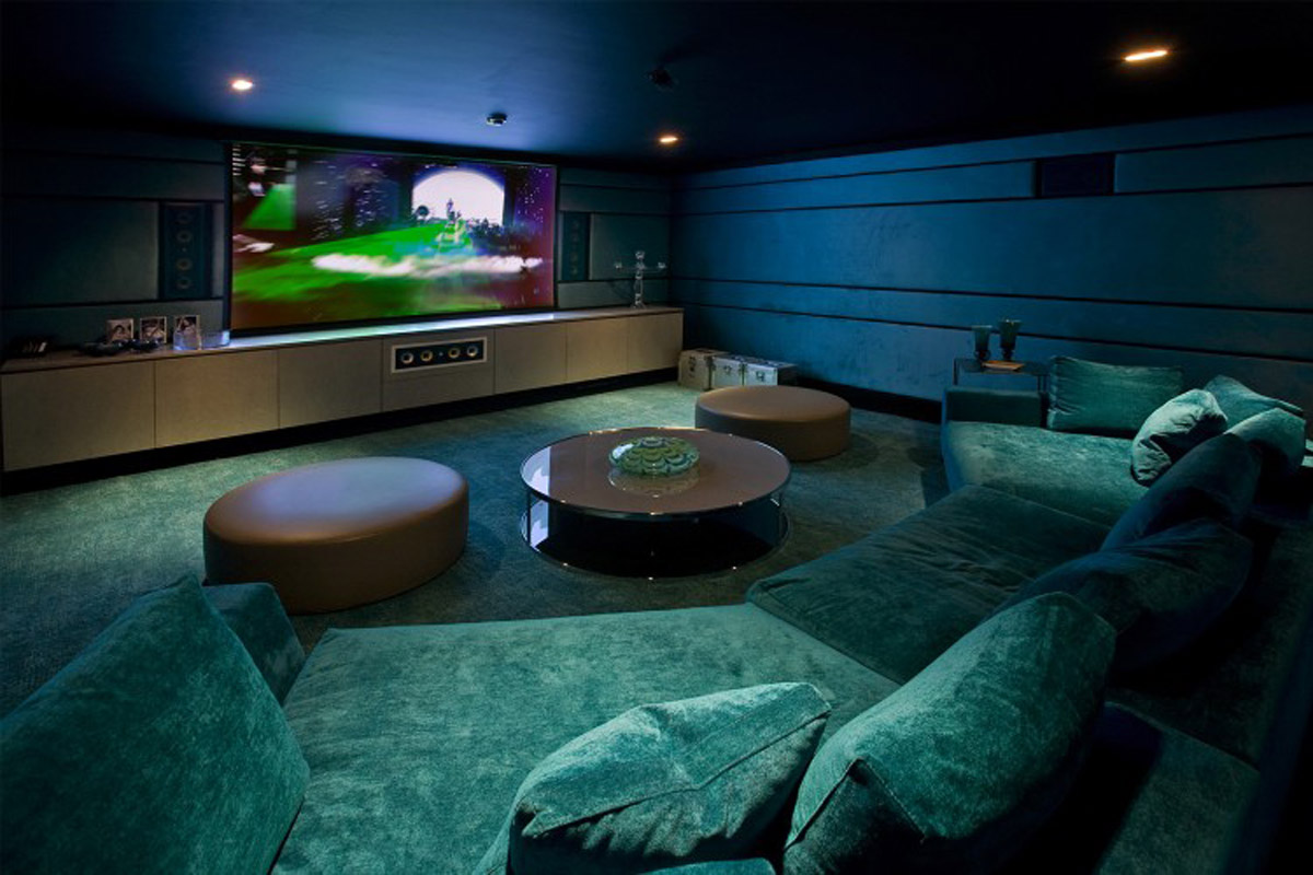 modern home theater millbrae interior design home theater