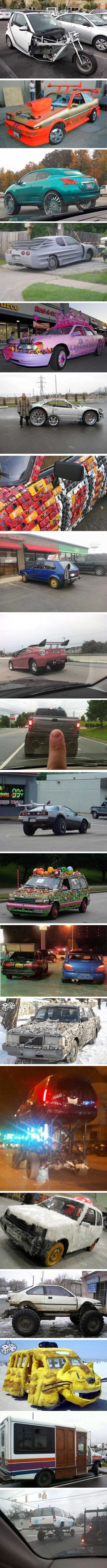 Тунинговани коли