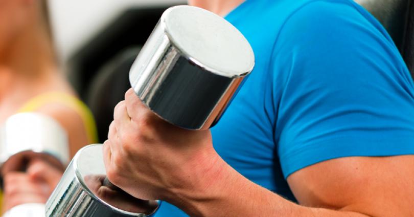 Фитнес за мъже у дома
