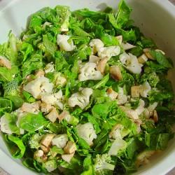 Мъжка зелена диета за пролетта