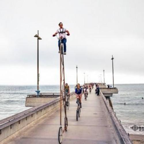 Направиха колело, високо 4,4 метра