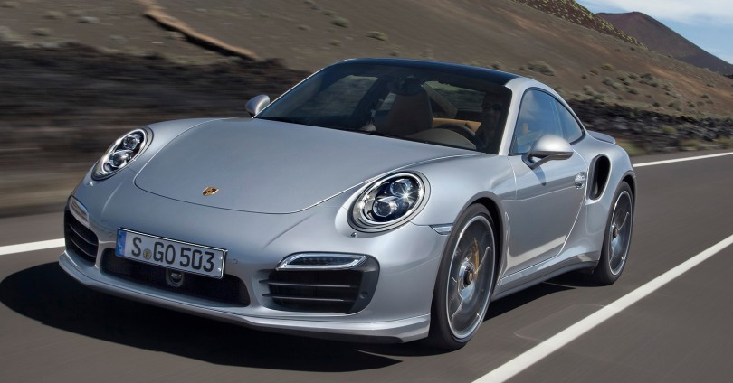 Новото Porsche 911 Turbo беше показано