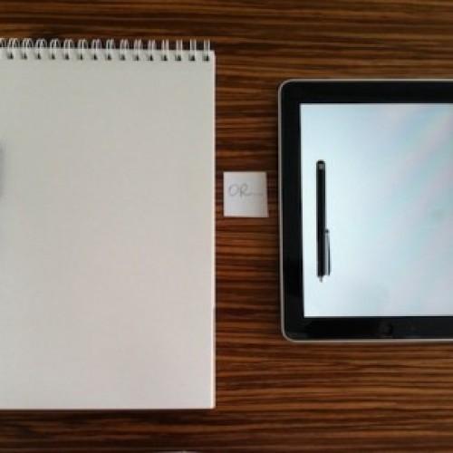 iPad срещу хартията – или кога новите технологии не ни вършат работа