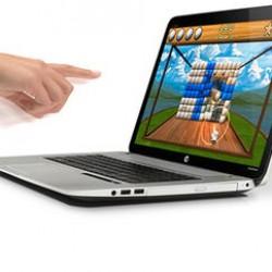 Поглед към първия лаптоп, управляван с жестове  HP ENVY17 Leap Motion