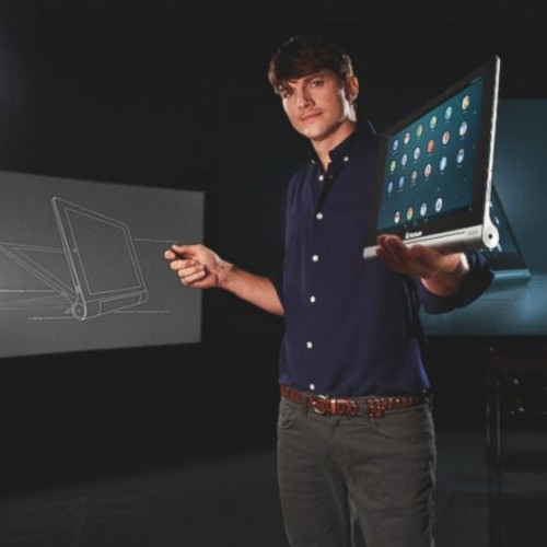 Lenovo Yoga Tablet + Ashton Kutcher =…?