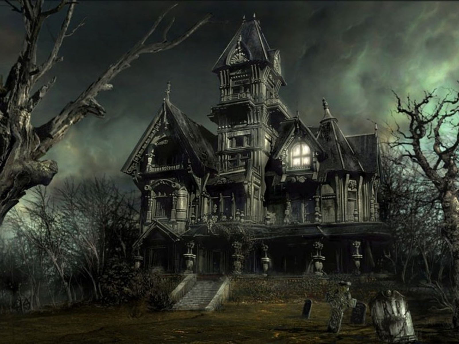 Horror House Wallpapers 2