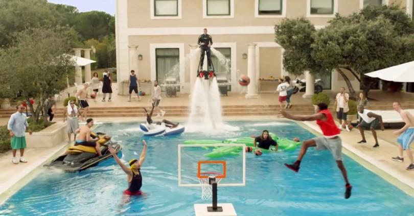 Ефектна реклама на Turkish Airlines