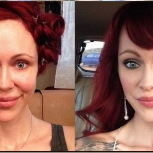 Порнозвезди – преди и след грим (втора част)