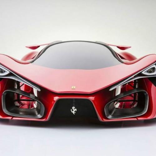 Мечти за червено new Ferrari